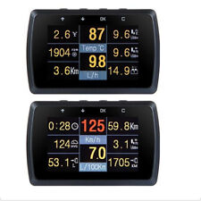 OBD2 Gauge Holder Driving Speed Meter Fuel Consumption Water Temperature Digital