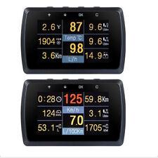 OBD2 Gauge Holder Driving Speed Meter Fuel Consumption Water Temperature Digital