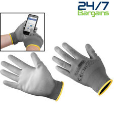 TOUCH SCREEN GLOVES LARGE SMART TOUCH PALM EASILY USE FINGERS ON MOBILE TABLET