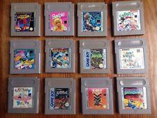12 Stück Nintendo Gameboy Game Boy Classic Spielesammlung Konvolut