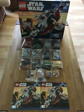 Lego Star Wars 8097 Slave1. 100% Komplett. Kein UCS Model !!!