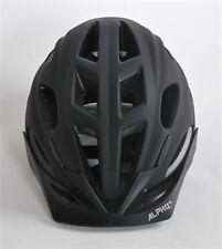Alpha Plus Helmet With Built In Red LED Light Matt Black or Yellow (Size Option)
