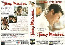 UNIQUEMENT LA JAQUETTE POUR K7 VIDEO : JERRY MAGUIRE avec TOM CRUISE