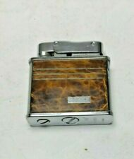 Vintage Series 100 Lighter Silver / Brown Design Japan