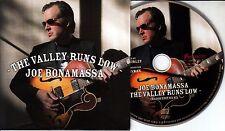 JOE BONAMASSA The Valley Runs Low 2016 Dutch 1-track promo CD