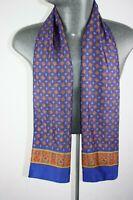 Vintage Silk Style Scarf mod dandy retro mens womens cravat foulard *1060