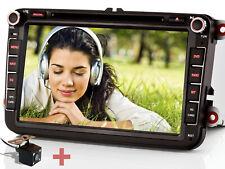 """Rückfahrkamera+ 8"""" Autoradio DVD GPS NAVI Für VW PASSAT CC GOLF 6 TIGUAN TOURAN"""