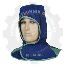 Kopfhaube, Weldas Fire Fox blau (Kopfschutz, Kopfteil, Kopfschutzhaube)