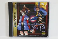 Universal Nuts W/ Reg Card Sega Saturn SS Japan Import US Seller SHIP FAST