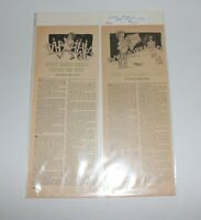 """4 Newspaper Pages 1937-38 """"Little Brown Koko""""Stories Blanche Seale Hunt"""