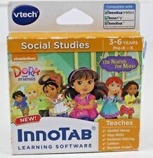 VTech InnoTAB Dora and Friends The Search for Mono Social Studies 3-6yrs NIP