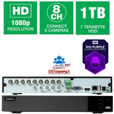 Q-See 8 Ch Dvr 1Tb Qth98-1 Bnc 1Tb 1080p Ahd-Tvi (Pir) (1Tb Hard Disk) 2018