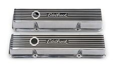 EDELBROCK 4262 VC ELITE II SBC 262-400 V8 SHORT POLISHED (4262)
