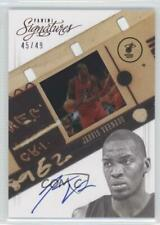2012-13 Panini Signatures Film Red /49 Jarvis Varnado #108 Rookie Auto