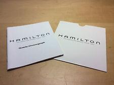 Used - Booklet HAMILTON Quartz Chronograph - Instruction Manual - Usado