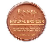 Rimmel London Natural Bronzer Pressed Powder 022 Sun Bronze Full Size 14g