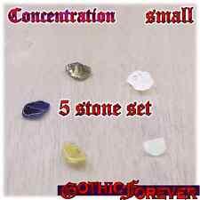 Meditation Concentration Reflect Healing Gemstone Kit Set of 5 SMALL 10mm Stones