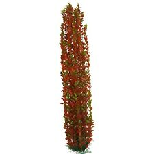 Large Aquarium Or Garden Pond Plastic Plants Approx 100 cms High Green & Red