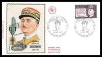 France (Général Charles DELESTRAINT) 1971 - FDC enveloppe premier jour