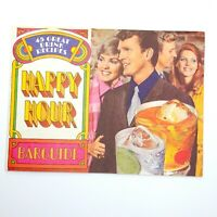Vintage 1970 Happy Hour Bar Guide 45 Great Drink Recipes Southern Comfort Mod
