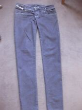 Jean DIESEL MATIC PRUNE SLIM SKINNY MOULANT Taille basse stretch  TBE taille 31