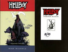 Mike Mignola SIGNED AUTOGRAPHED Hellboy Strange Places SC BRAND New Book #6