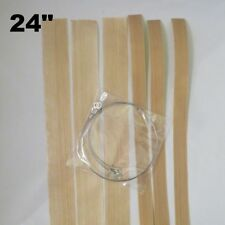 "24"" Round Wire Replacement Impulse Sealer Heat Element Seal & Cut Teflon- 3 Pack"