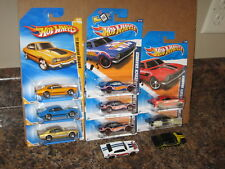 Hot Wheels Lot of 10 1971 Ford Maverick Grabber Coupe Variation '71 Red Line
