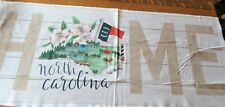 My Home State North Carolina Cotton Fabric 43 X 18 Inches