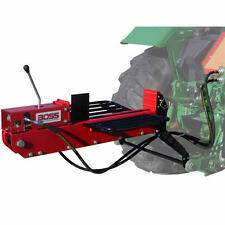 Boss Industrial 3-Point Tractor Mount Dual-Action Log Splitter (16 Ton Max Fo...