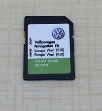 VW SEAT SKODA RNS 310 Amundsen dernière V10 2018 Navigation FX Carte SD West Europe