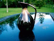"""Stone Mountain Georgia Pottery Glazed 6.5"""" Vase Great Georgia Attraction"""