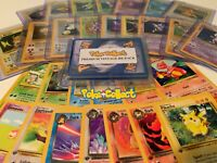 Pokemon Card Lot Premium Vintage 10 Card Pack 1st Edition & Holo Rare INCLUDED!