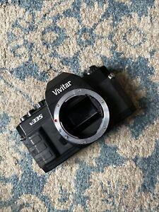 Tested And Working! Vivitar V335 manual camera body takes Pentax K lenses