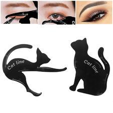 2Pcs Beauty Cat Line Stencils Eyeliner Template Model Auge Kosmetik Werkzeuge
