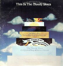 The Moody Blues Vinyl LP Threshold 1974, THS-12/13 This Is the Moody Blues ~ VG+