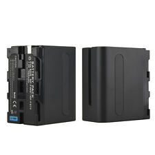 7800mah NP-F960 NP-F970 Rechargeable Battery For Sony F960 F970 Digital Camera