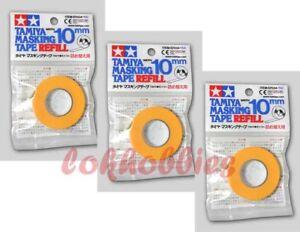 TAMIYA 87034 Model paint spray Masking Tape 10mm Refill x3 Free Ship