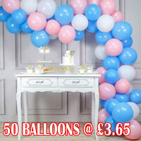 "Pack of 10-100 Pastel Latex Balloons Macaron Candy Many Colour Party 5-10"" Balon"