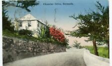 Bermuda Hamilton - Oleander Drive 1936 Cover postcard