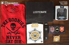 Loot Crate - May 2017 GUARDIANS - Full Crate
