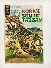 Korak Son of Tarzan #34  F+  Gold key comic 1970 Painted cover