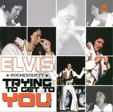 Elvis Collectors CD - Trying To Get To You - Rochester '77 (Straight Arrow)