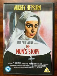 The Nun's Story DVD 1959 Religious Movie Classic with Audrey Hepburn