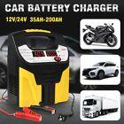 12v24v Auto Car Battery Charger Intelligent Pulse Repair Jump Starter Booster