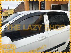 Weathershields, Weather Shields for Hyundai TB series Getz 02-11 Window Visors