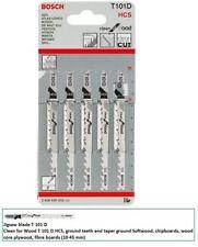 Bosch T101D Jigsaw blades 5 Clean wood cutting 2608630032 VAT RECEIPT
