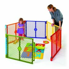 North States Color Superyard Baby/Pet Gate & Portable Play Yard - 6 Panel | 8769