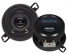 """CRUNCH dsx32 3.5 """"da 8cm 2 VIE COASSIALI ALTOPARLANTI AUTO accoppiamento personalizzato 1 Coppia"""