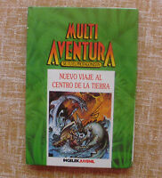 Multi-Aventura, se tú el protagonista,Nuevo viaje al centro de la tierra,Ingelek